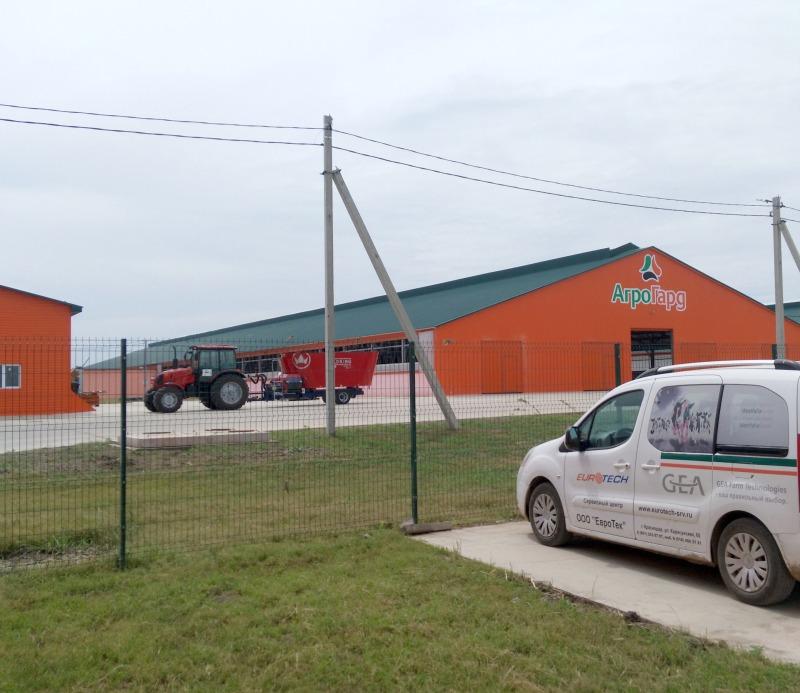 Новая ферма в Выселковском районе готова к приёму коров